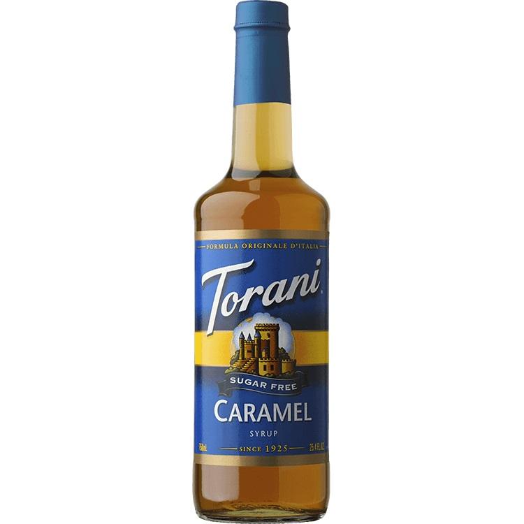 Torani Caramel Sugar Free 750 ml thumbnail