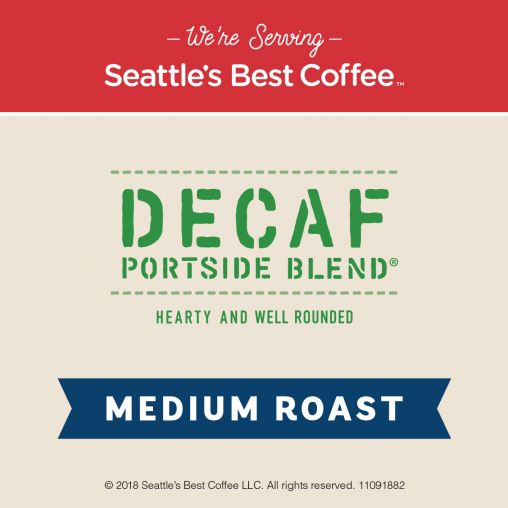 Seattle's Best Portions Decaf Portside Blend 2oz thumbnail