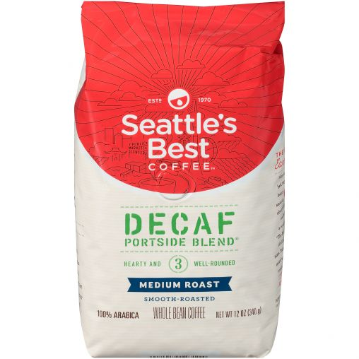 Seattle's Best Whole Bean Decaf Portside Blend thumbnail