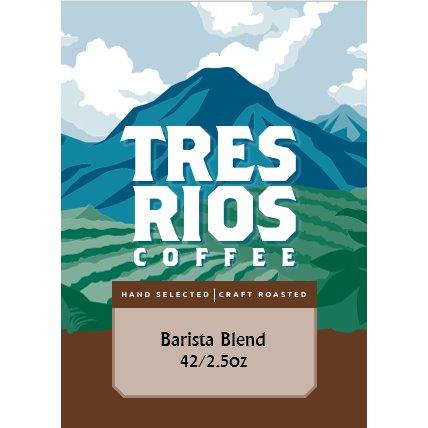 Tres Rios Barista Blend 42/ 2.5oz thumbnail
