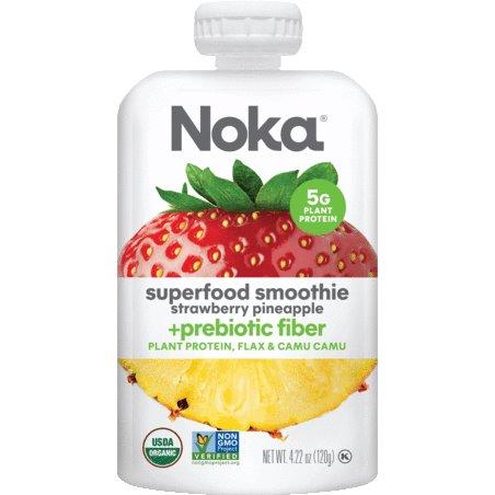 Noka Strawberry Pineapple Smoothie 4.22oz thumbnail