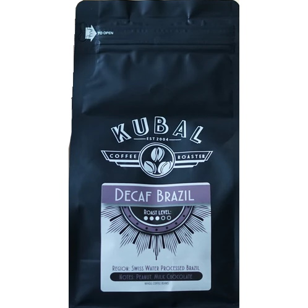 Cafe Kubal Brazil Decaf Whole Bean 12oz thumbnail