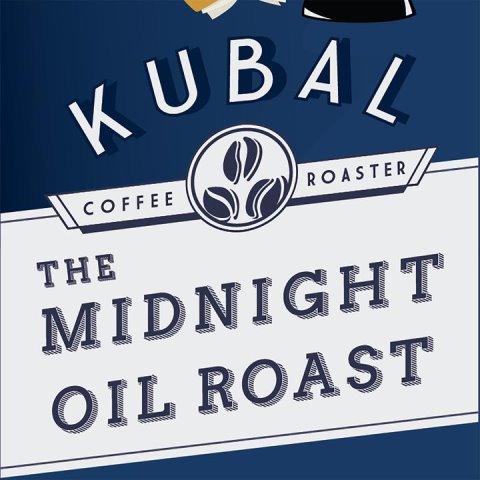Cafe Kubal Midnight Oil Whole Bean 5lb thumbnail