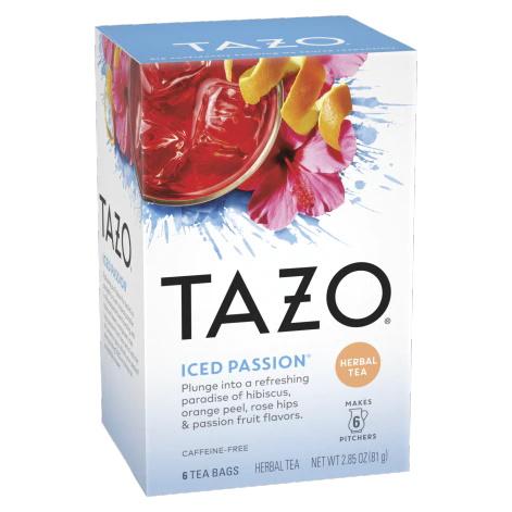 Tazo Iced Passion 6ct thumbnail