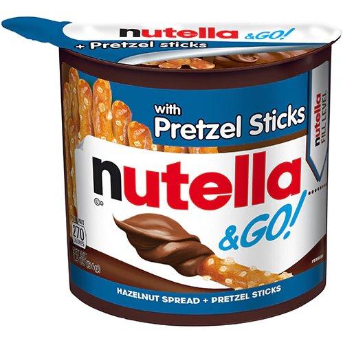 Nutella & Go with Pretzel Sticks thumbnail