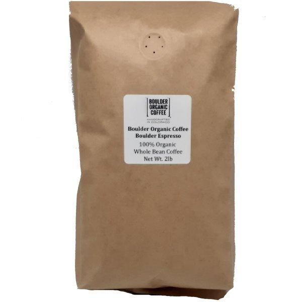 Boulder Organic Coffee Espresso Whole Bean 2lb thumbnail