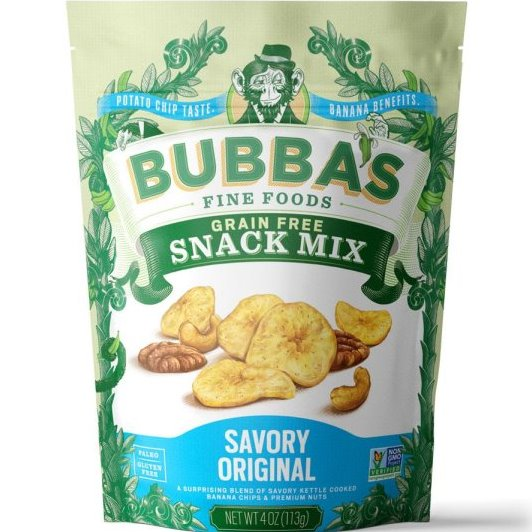 Bubbas Snack Mix Savory Original thumbnail