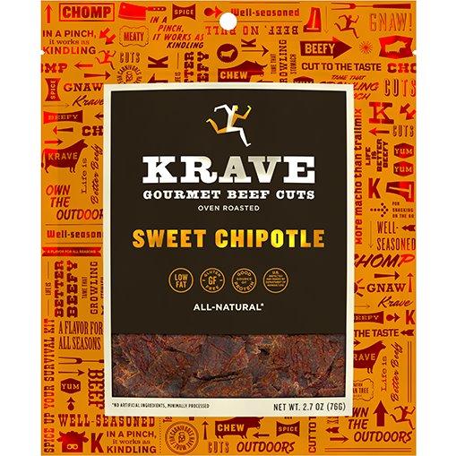 Krave Jerky Sweet Chipotle 2.7oz thumbnail