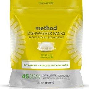 Method Dish Soap Pods Lemon Mint 45ct thumbnail