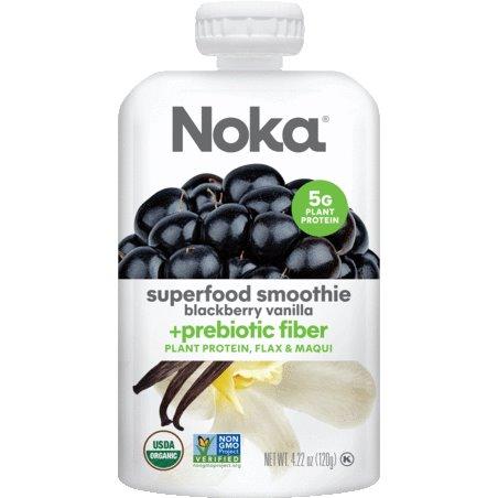Noka Smoothie Blackberry Vanilla 4.22oz thumbnail