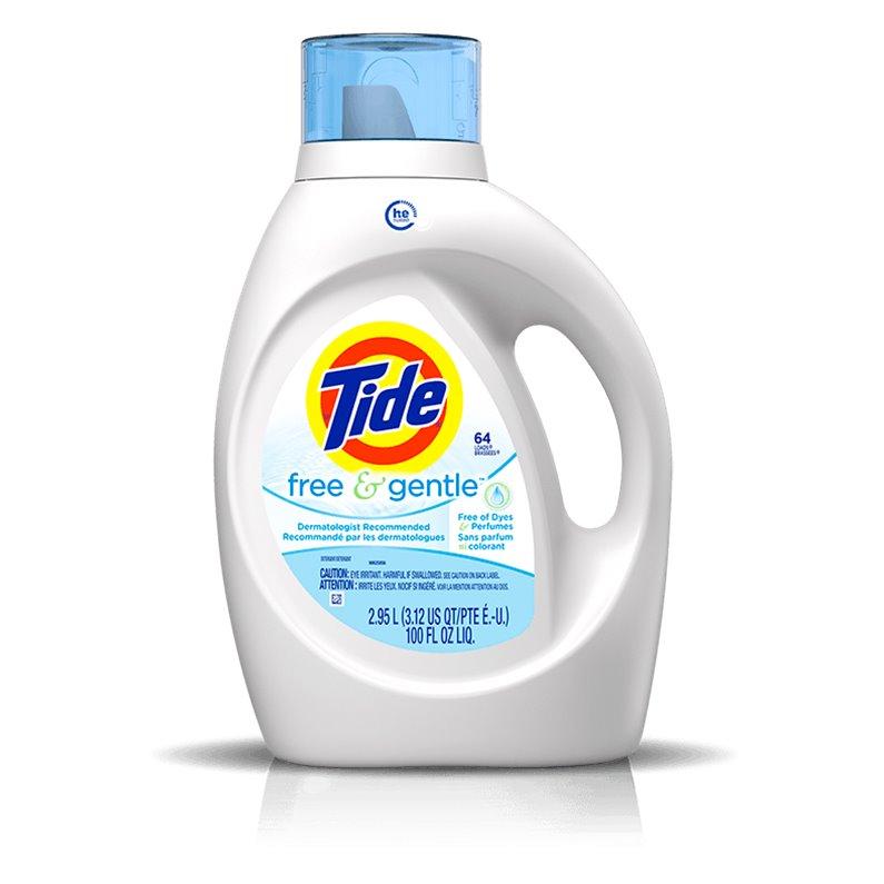 Tide Free & Gentle Detergent 37oz thumbnail