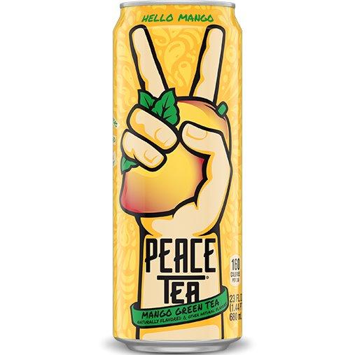 Peace Tea Mango Green 23oz thumbnail