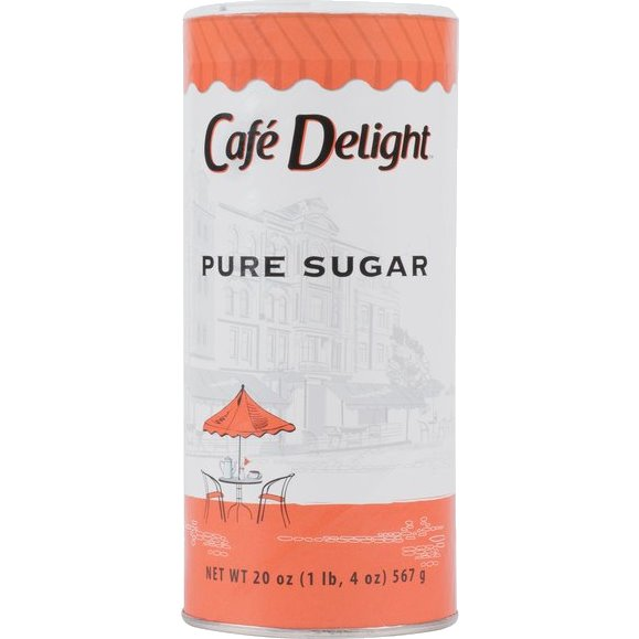 Cafe Delight Sugar Granulated Cans thumbnail
