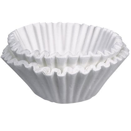 12 Cup White Wide Filter 50ct thumbnail