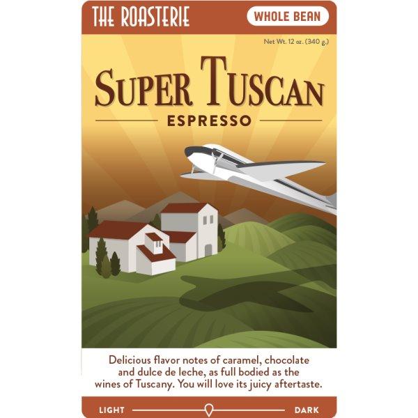 KC Roasterie Super Tuscan Espresso Whole Bean 5lb thumbnail
