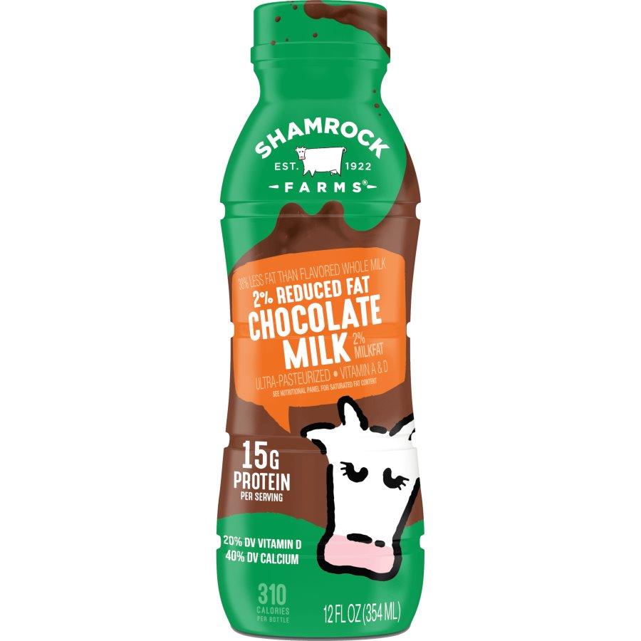 Shamrock 2% Chocolate Reduced Fat Milk thumbnail
