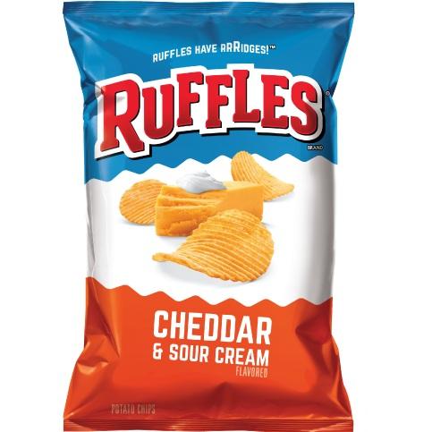 Ruffles Cheddar & Sour Cream XVL 2.12oz thumbnail