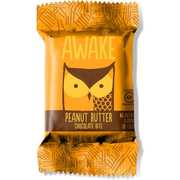 Awake Peanut Butter Milk Chocolate Bites thumbnail