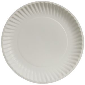 """SS 9"""" Uncoated Paper Plate thumbnail"""