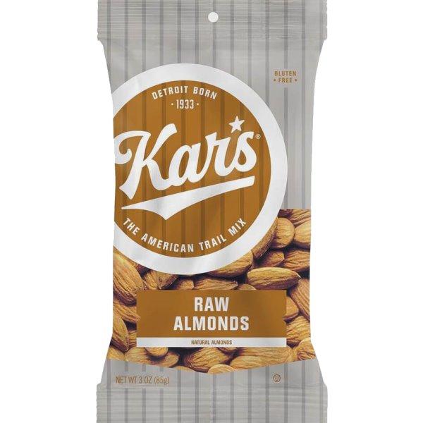Kars Raw Almonds 3oz thumbnail