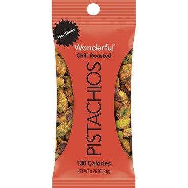 Wonderful Pistachios Chili Roasted .75oz thumbnail