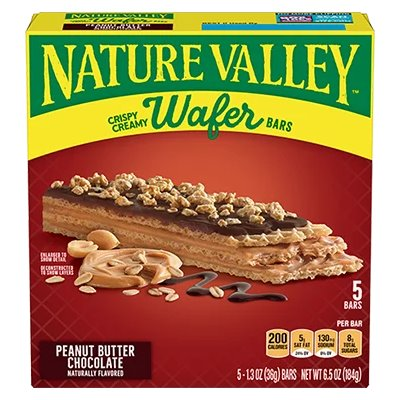 Nature Valley Chocolate Crispy Wafers 1.3oz thumbnail
