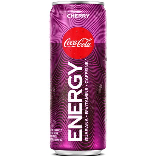 Coke Cherry Energy 12oz thumbnail