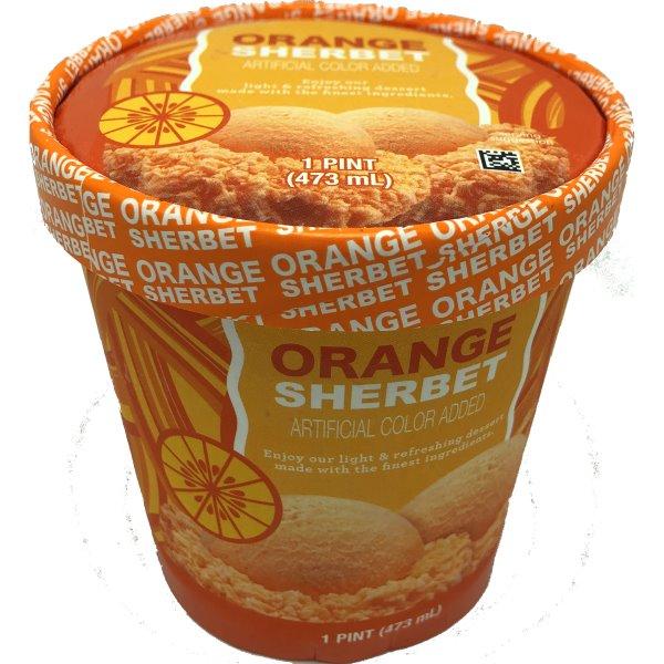 HOF Orange Sherbet Pint 16oz thumbnail