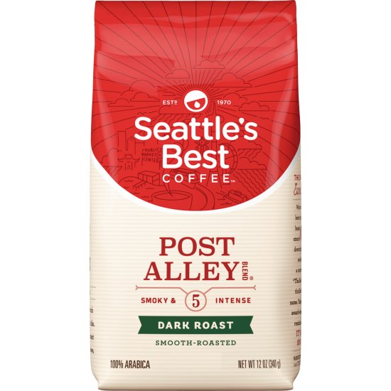Seattle's Best Post Alley Whole Bean 12oz thumbnail