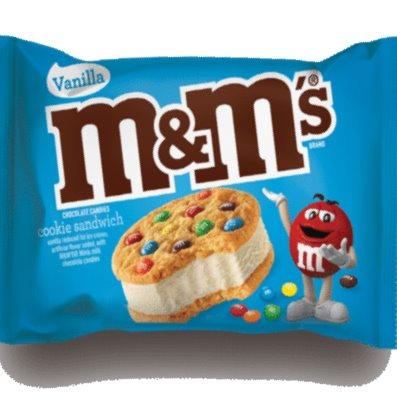 M&M Ice Cream Cookie Sandwich 4oz thumbnail