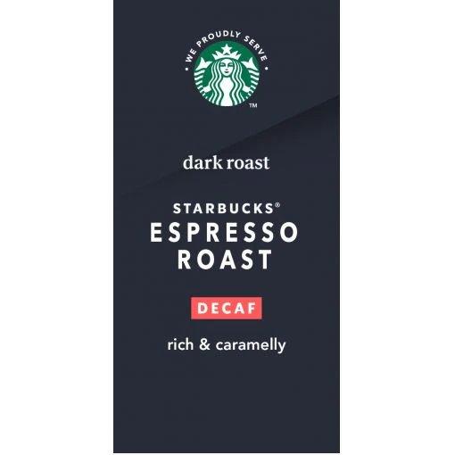 Starbucks Decaf Espresso 1/6lb thumbnail