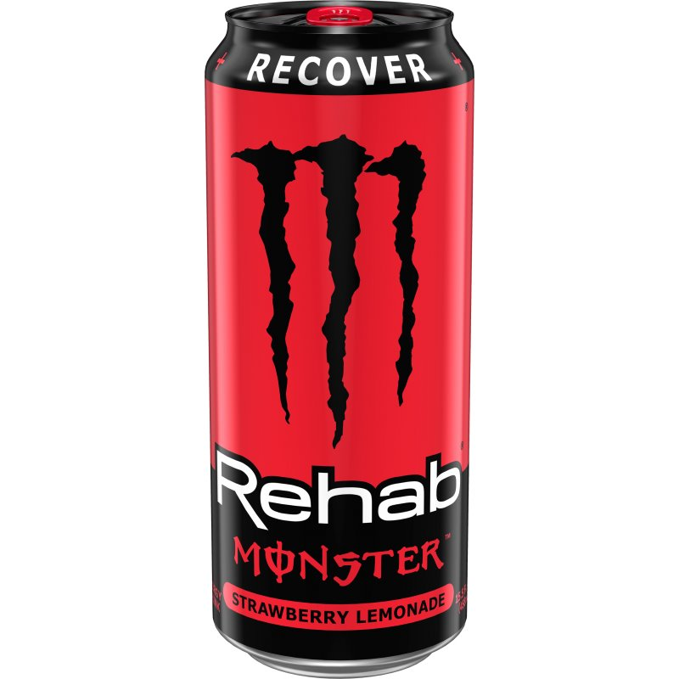 Monster Rehab Strawberry Lemonade 16oz thumbnail