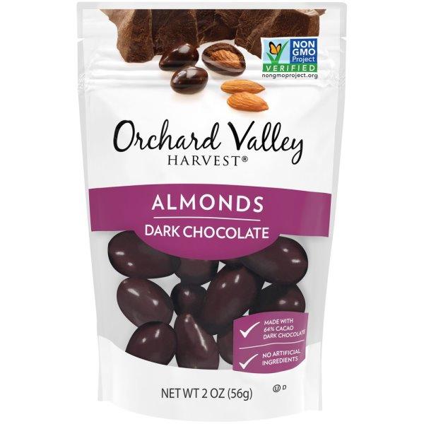 Orchard Valley Dark Chocolate Almonds thumbnail