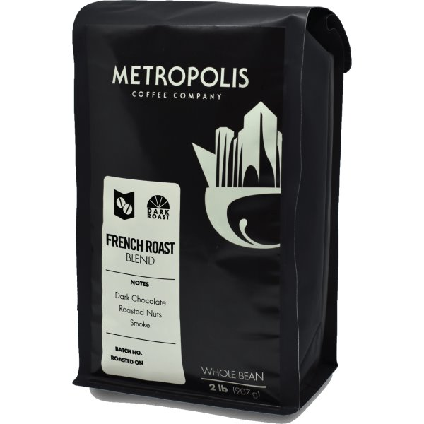 Metropolis Coffee French Roast Whole Bean 2lb thumbnail
