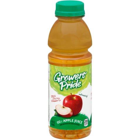 Florida Natural Growers Pride 100% Apple Juice 14oz thumbnail