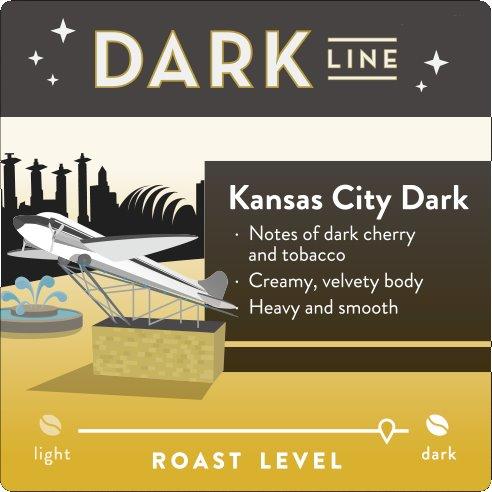 KC Roasterie KC Dark Roast Whole Bean 5lb thumbnail